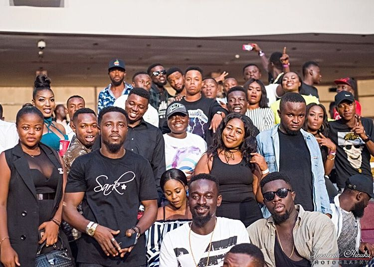 Sarkodie Hosts 100 Fans For A Thank You Party