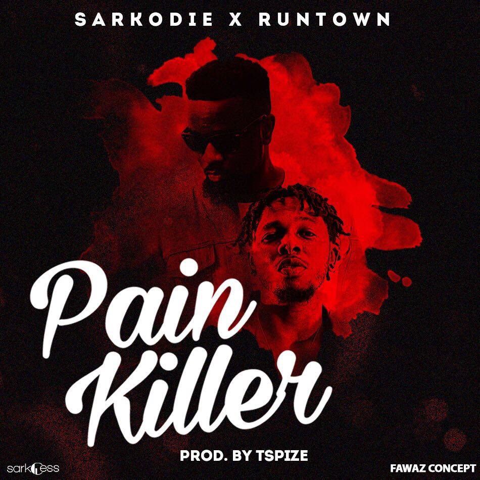 Sarkodie – Pain Killer (feat. Runtown)(Prod By Tspize)