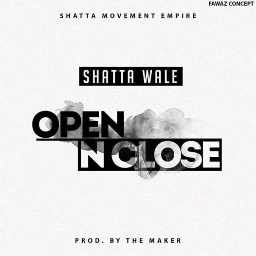 Shatta Wale – Open N Close (Prod By Da Maker)