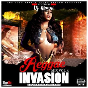DJ Manni - Reggae Invasion Vol.5