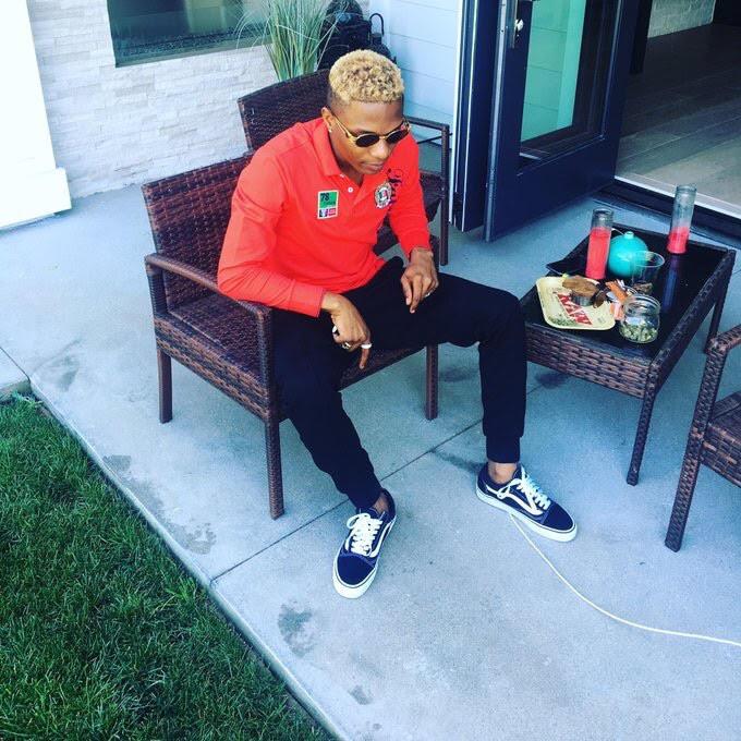 Wizkid Goes Blonde
