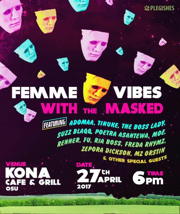 Femme Vibes With The Masked