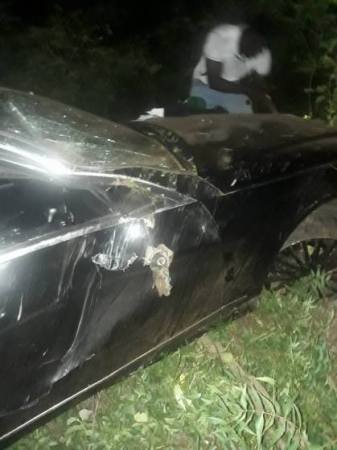 Medikal Reportedly Involved In A Car Accident 3