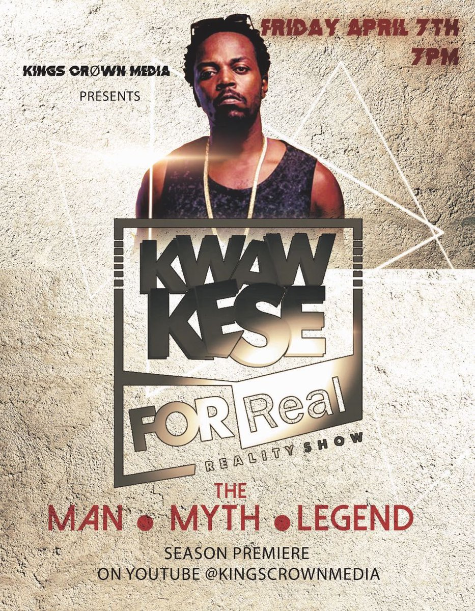 VIDEO Kwaw Kese Set To Premiere Reality TV Show