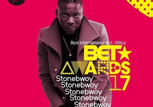 BET 2017 – Stonebwoy Gets 2nd Nomination !