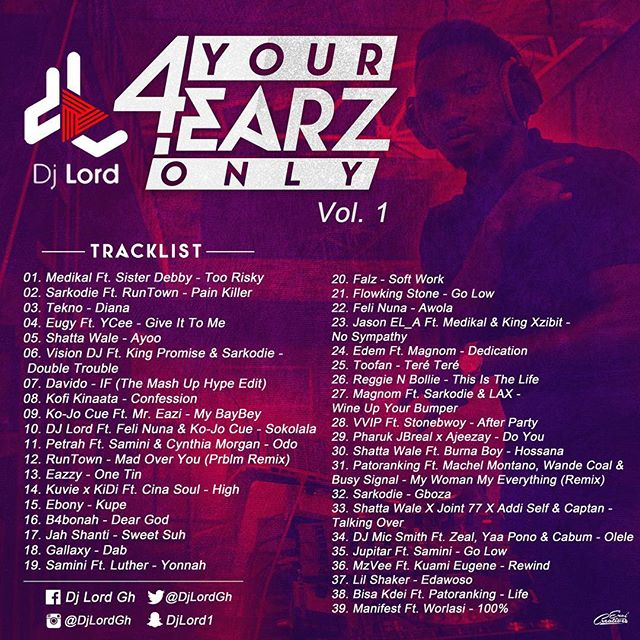 DJ Lord - 4 Your Earz Only (Vol 1)