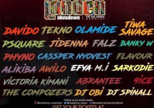 Mi Abaga, Cassper Nyovest, Efya, And More Take Africa To London