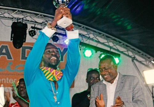 Okyeame Kwame Awarded in Germany