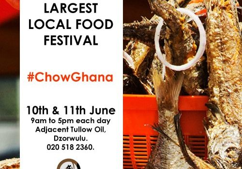 Chow Ghana: Ghana's First Local Food Festival Slated For June 10