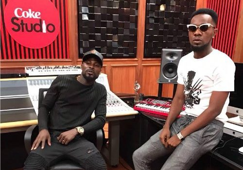 Mix Masta Garzy Spotted at Kenya, Nairobi Coke Studio Africa 2017