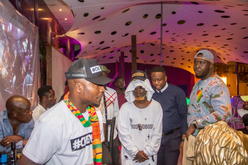 Ntelabi Spotted at Cabum's Album Launch