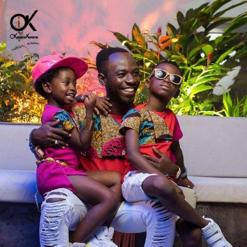 Okyeame Kwame Joins David Beckham as UNICEF Super Dad Ambassadors
