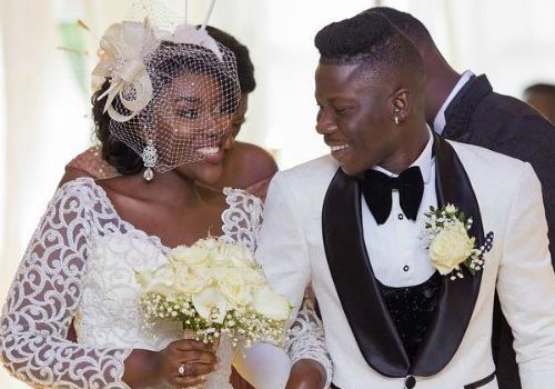 VIDEO + PHOTOS: Stonebwoy Weds Dr. Louisa Ansong