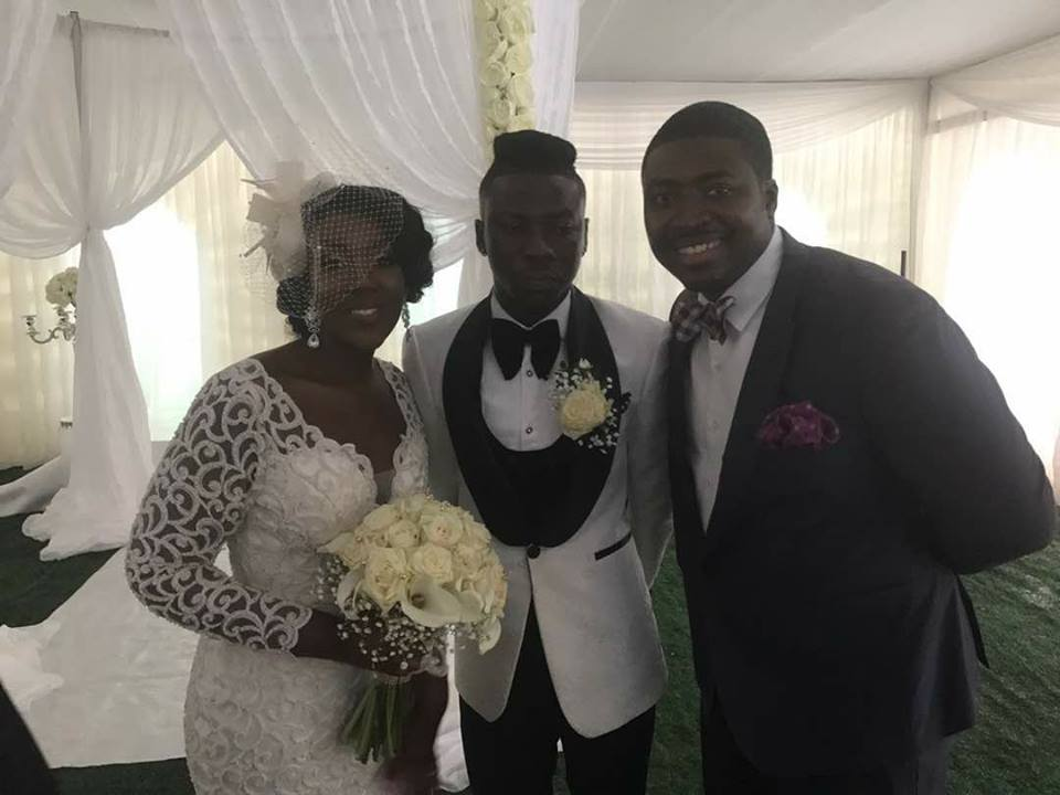 PHOTOS Stonebwoy Weds Dr. Louisa Ansong