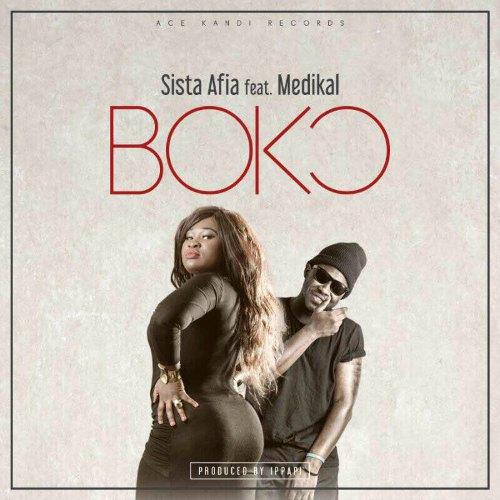 Sista Afia – Bokoorr (feat. Medikal)(Prod By iPappi)