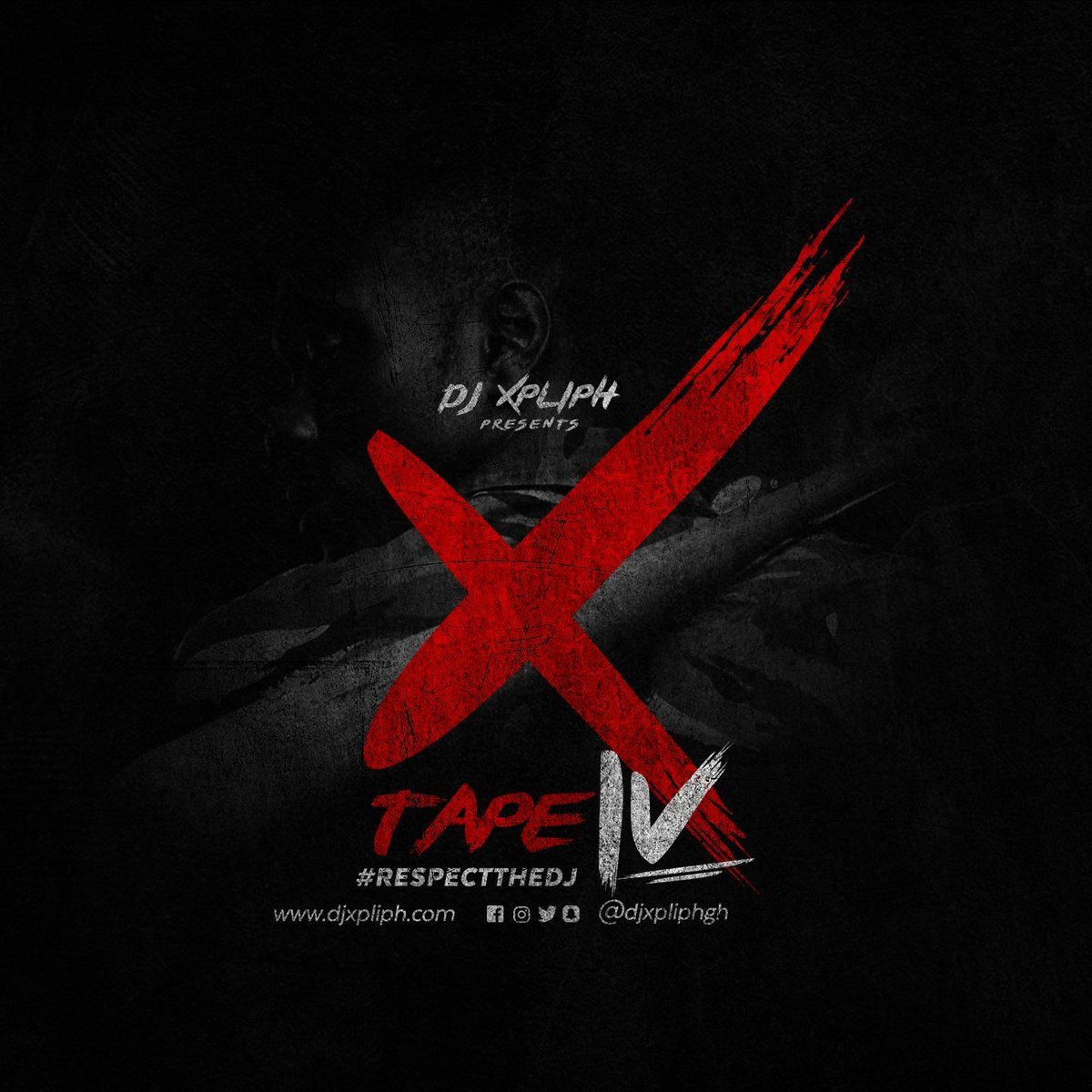 DJ Xpliph Unveils Official Artwork for Upcoming Video Mixtape 'X Tape 4'