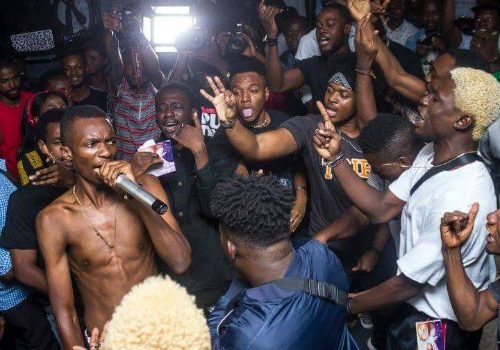 "Magnom Shuts down Accra with His ""We Speed"" Concert."