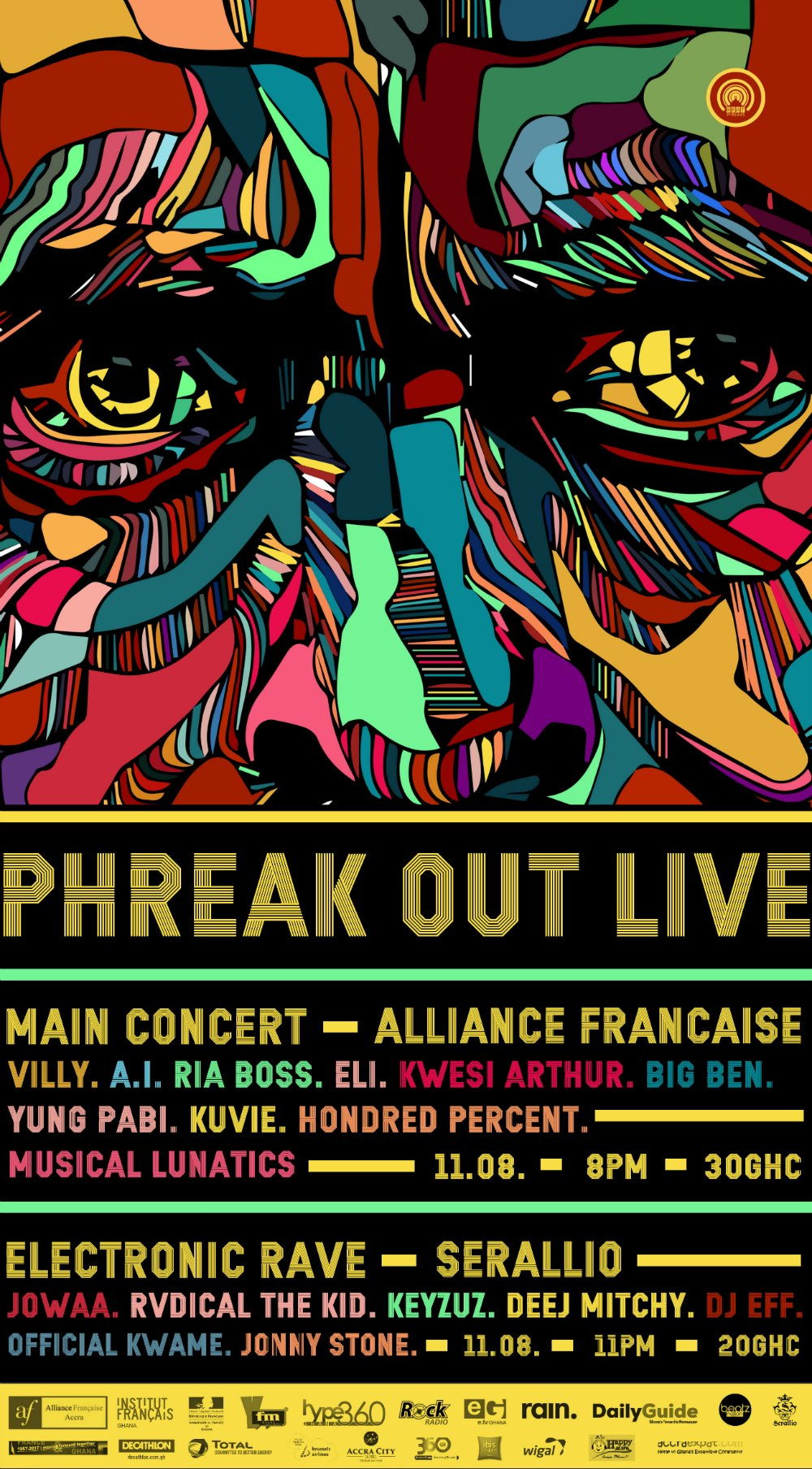 Phreak Out Live 2017 Slated For 11th August