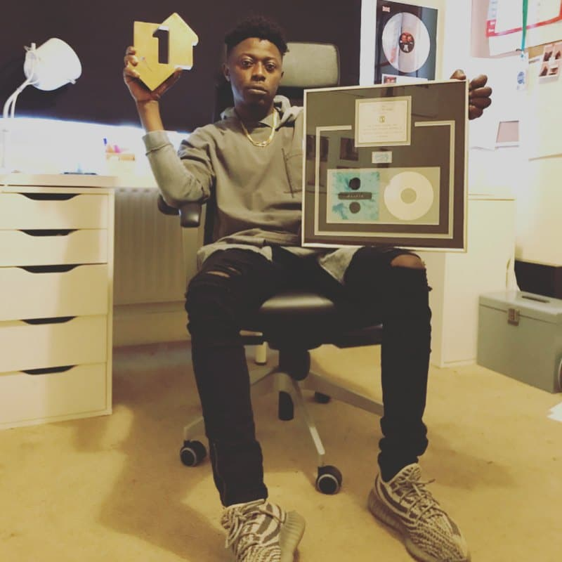 Killbeatz Receives Plaque For 'Bibia Be Ye Ye' After It Sold Nearly 2 Million Copies