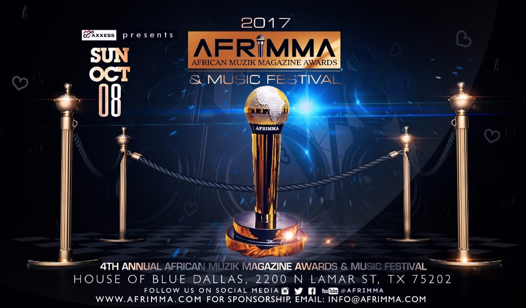 Shatta Wale, Stonebwoy, Medikal, Efya & others nominated for AFRIMMA 2017