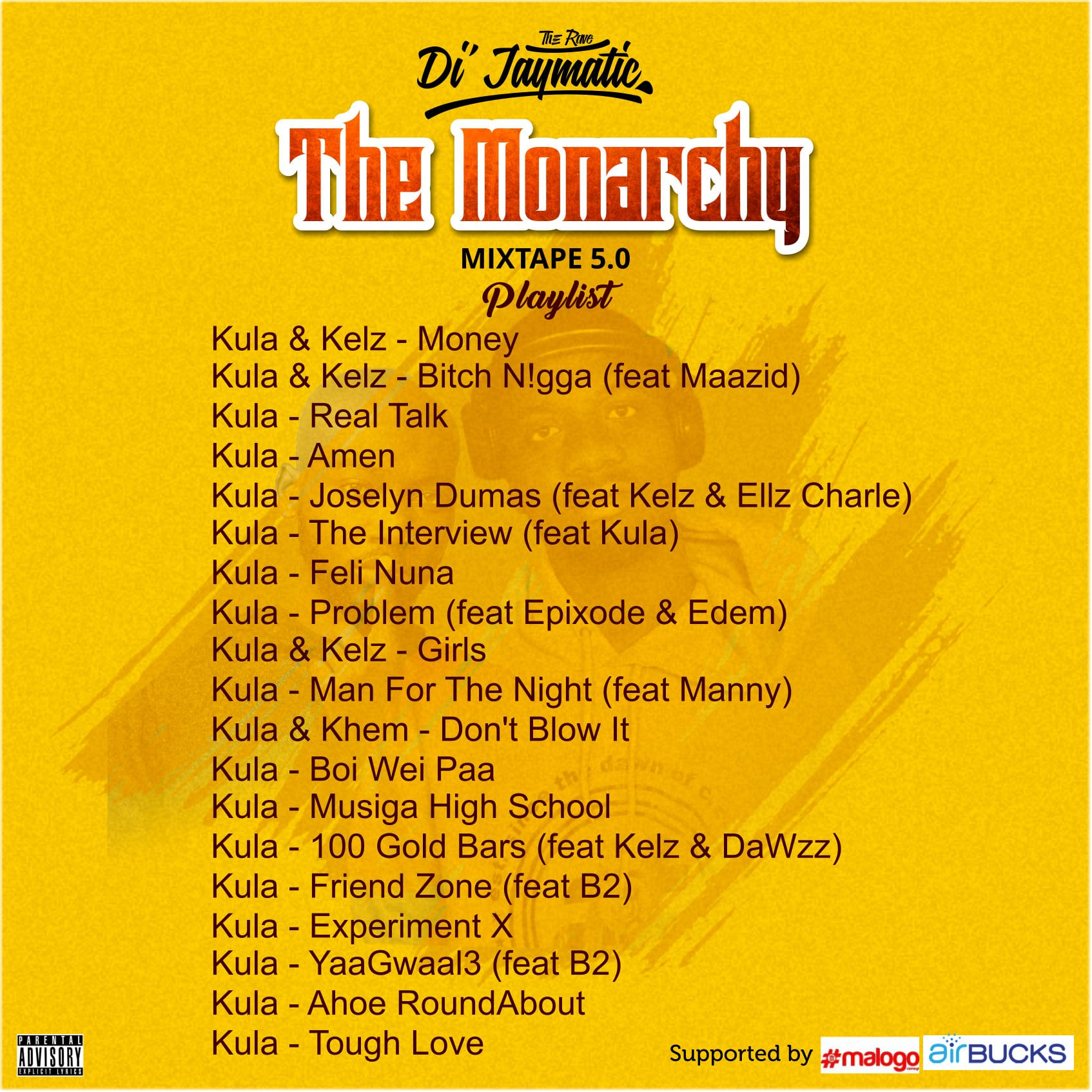 Di'Jaymatic - Monarchy Mixtape Episode 5 (feat. Kula)
