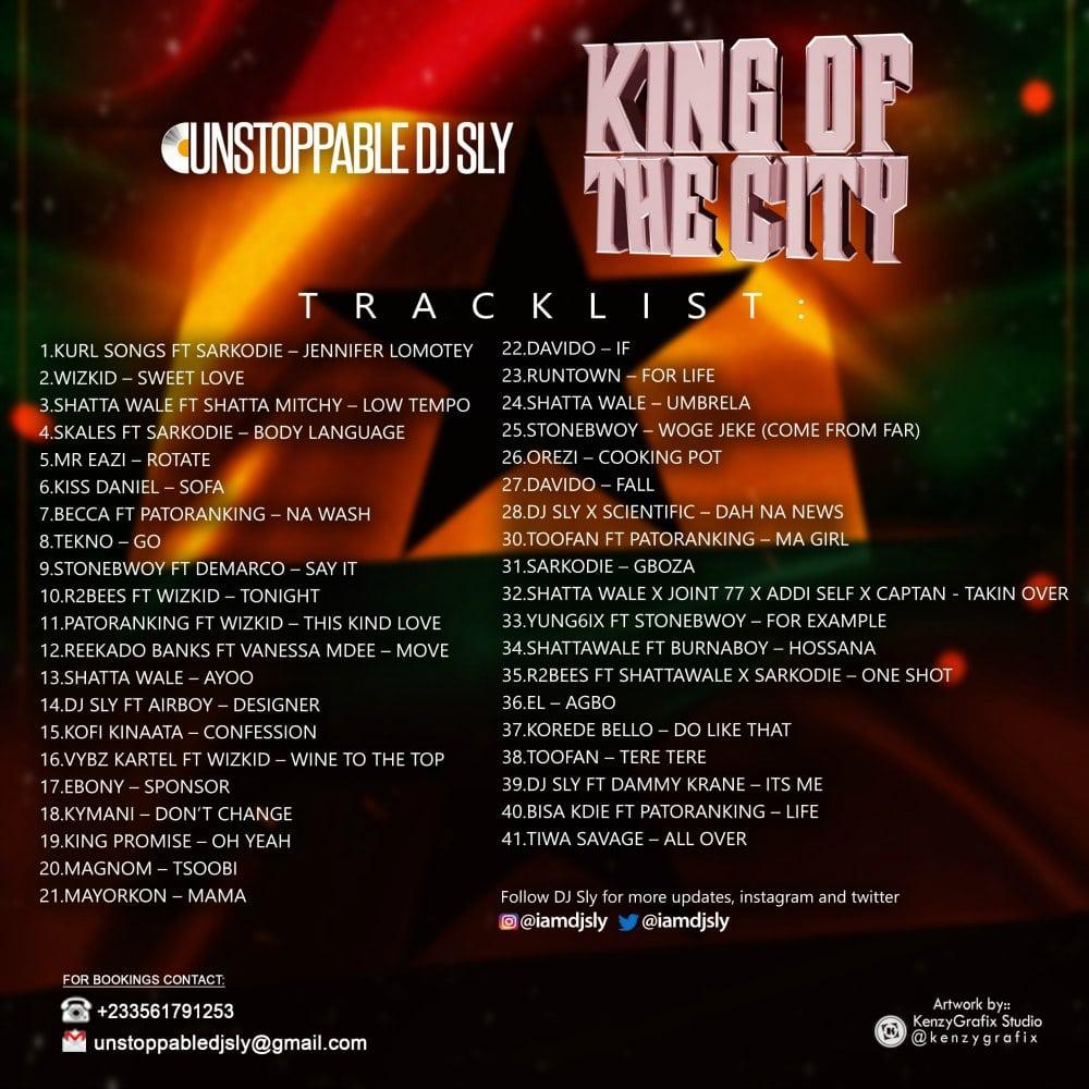 MIXTAPE: DJ Sly - King Of The City