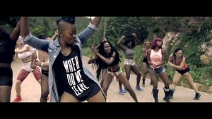 VIDEO: Fay-Ann Lyons - Block The Road (feat. Stonebwoy)