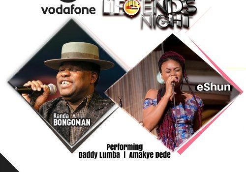 eShun To Perform with Kanda Bongoman, Amakye Dede & Daddy Lumba at Vodafone African Legends Night