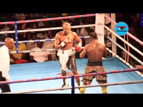 VIDEO: FULL FIGHT - Bukom Banku vs Bastie Samir + Reactions After Bukom Banku's defeat