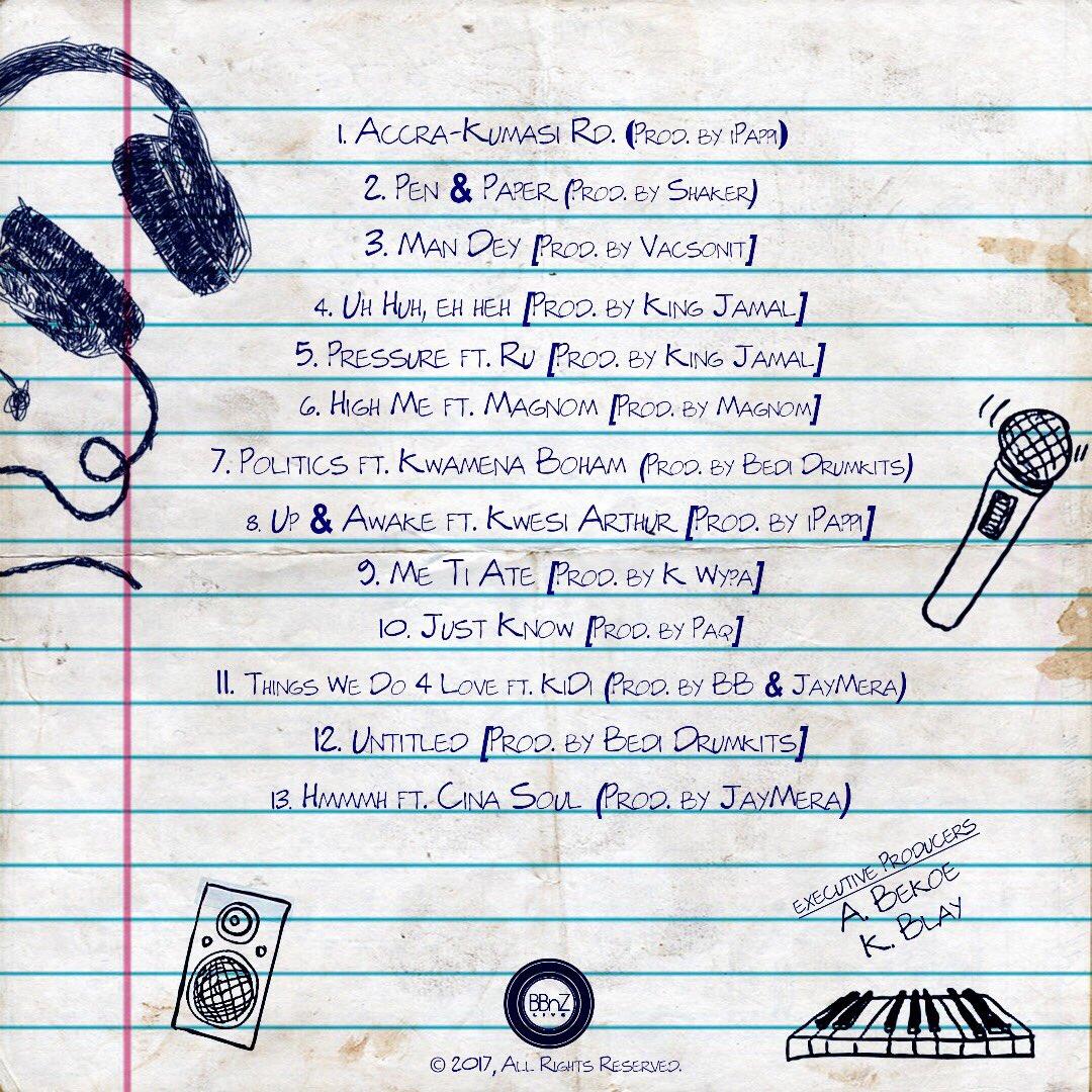 ALBUM: Ko-jo Cue & Shaker - Pen & Paper