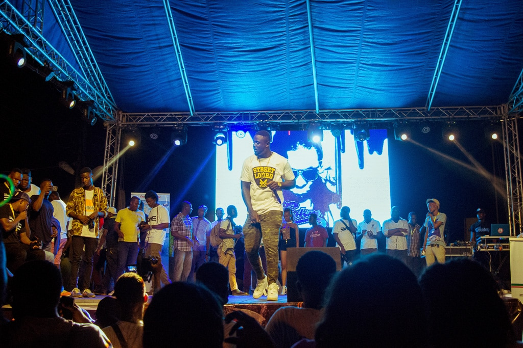 PHOTOS + VIDEO M3dal's Epic Performance in Keta