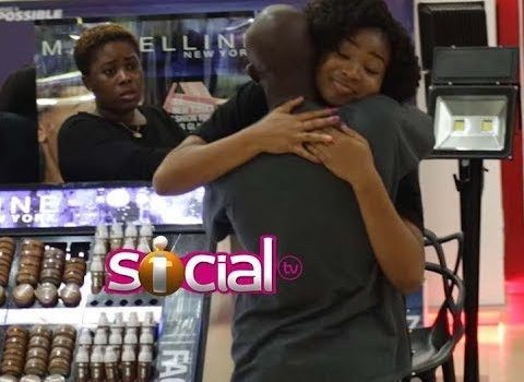 VIDEO: King Promise Goes Hugging Random People at the Mall