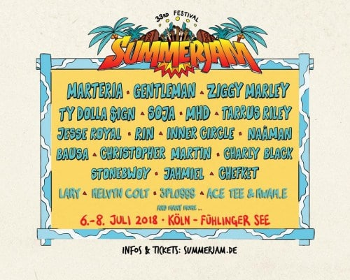 Stonebwoy, Only African Artiste Listed For Summerjam 2018 With Ziggy Marley, Gentleman, Tarrus Riley, Jahmiel, Others