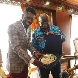 VIDEO: Visit By Shatta Wale to President Nana Addo Dankwa Akufo-Addo's Office