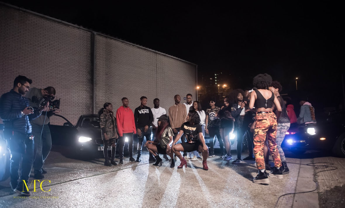 Behind The Scene Pictures from DJ Neptune & Runtown's WHY Music Video Shoot