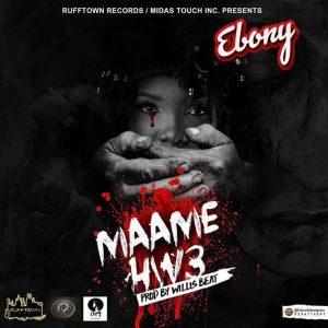 INSTRUMENTAL REMAKE: Ebony - Maame Hwe (Prod. By itzCJ)