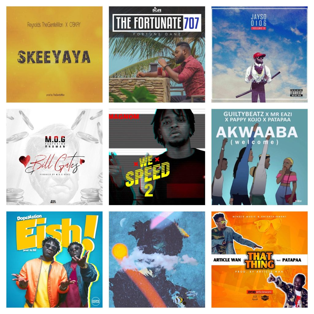 Ghanaian Producer Projects in 2018