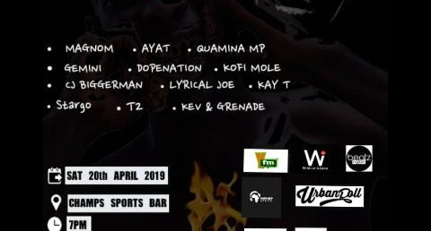 Flames Hip Hop Concert 2019