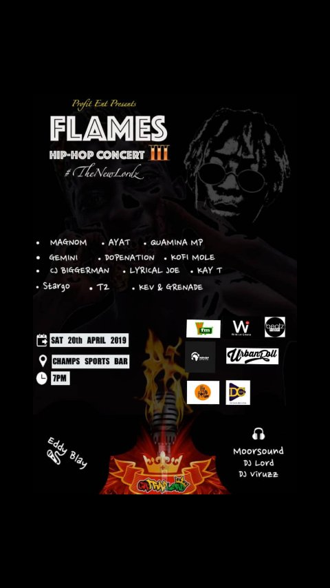 Flames HipHop Concert 2019