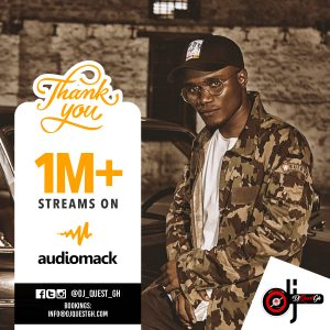 DJ Quest Accumulates 1 Million Plus Audiomack Streams
