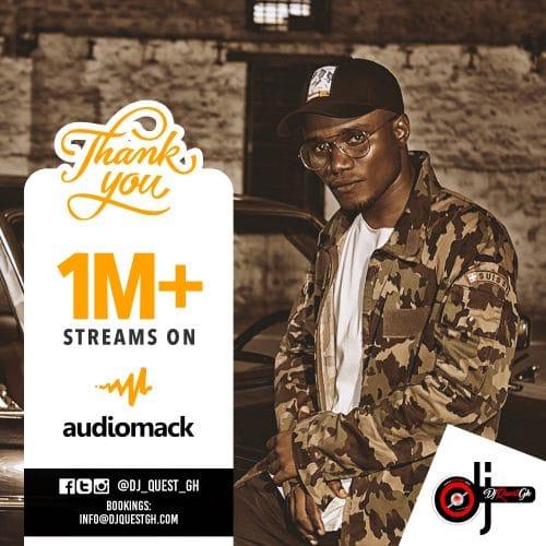 DJ Quest Accumulates 1 Million Plus Audiomack Streams