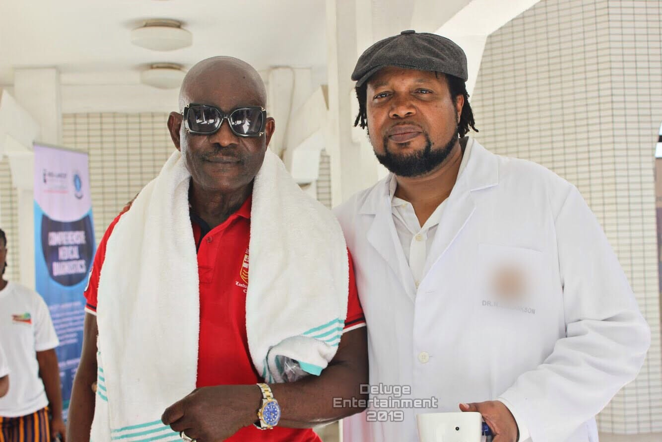 Knii Lante collaborates with MUSIGA to give back to aged musicians 2
