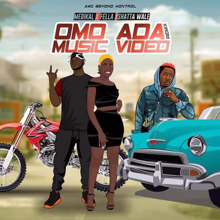 Medikal – Omo Ada REMIX (feat. Fella Makafui & Shatta Wale) (Prod. By Unkle Beatz)