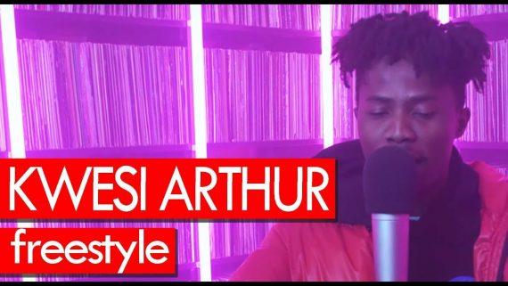 VIDEO: Kwesi Arthur freestyle – Westwood Crib Session