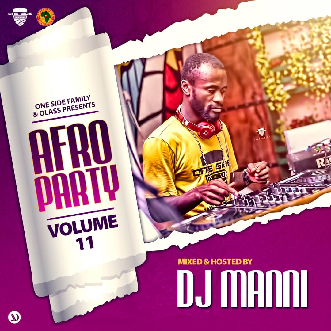 DJ Manni – Afro Party  Vol.11