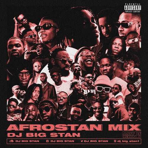 artwork DJ Big Stan - Afrostan Mix
