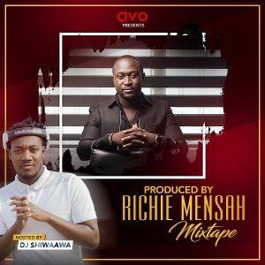 artwork DJ Shiwaawa - Produced By Richie Mensah Mixtape