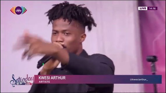 VIDEO: Kwesi Arthur and Barima Sidney on CitiFM Saturday Live