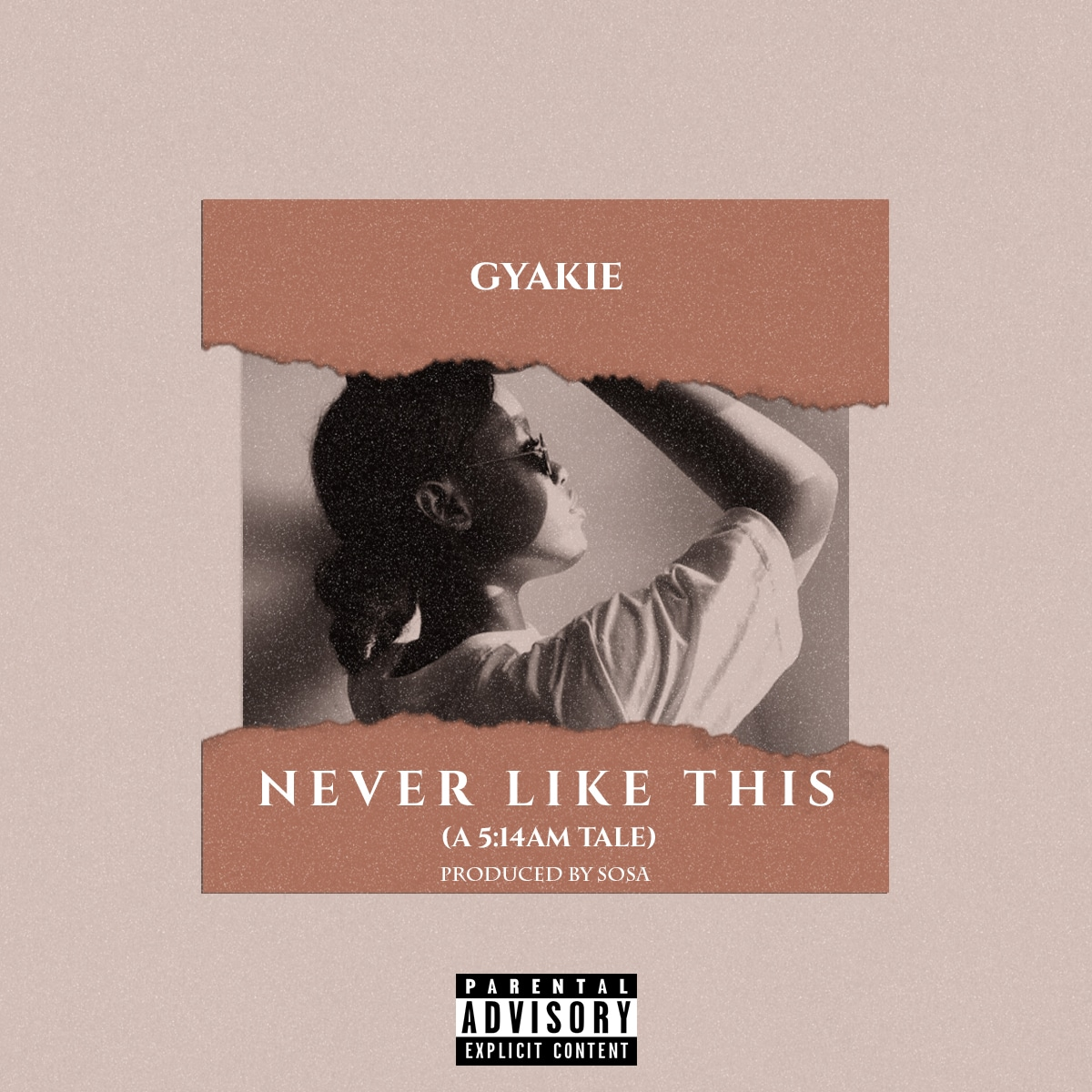 artwork for gyakie never like this