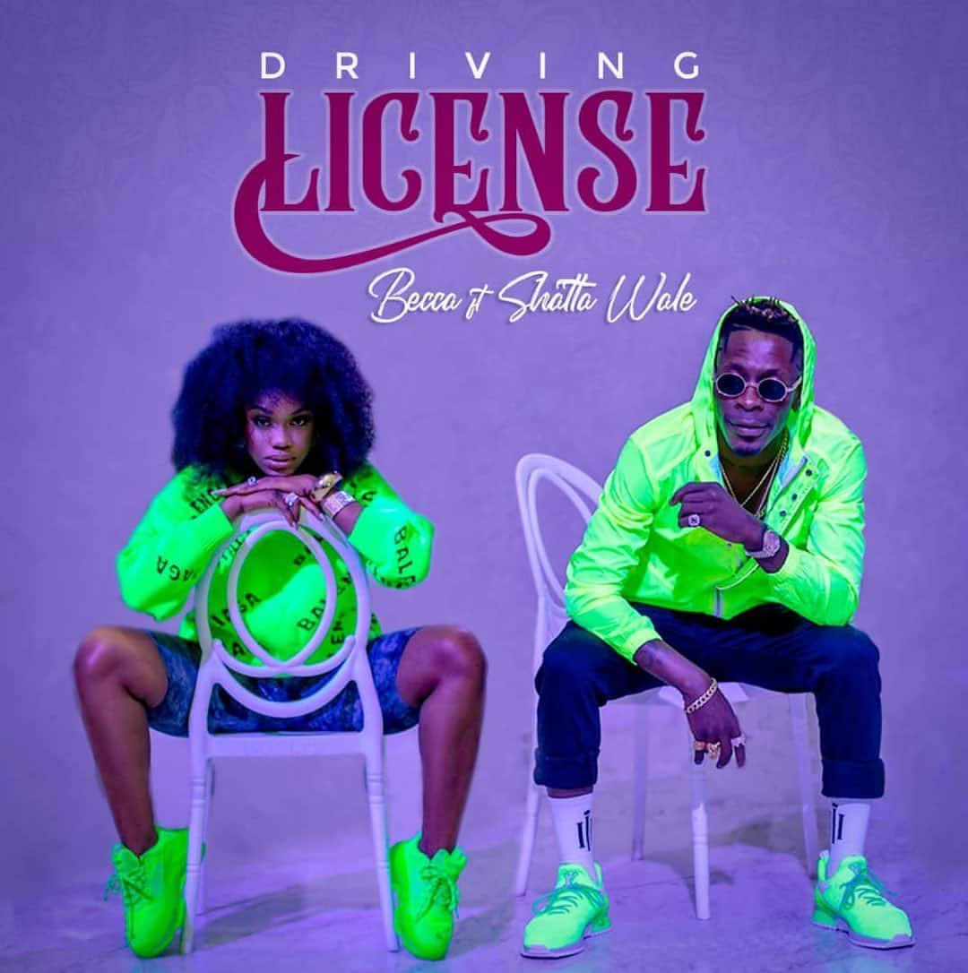Becca - Driving License (feat. Shatta Wale)